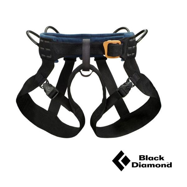 Black Diamond Bod安全吊帶-黑M 登山攀岩安全座帶|攀岩吊帶 650020