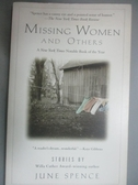 【書寶二手書T9/原文小說_HRH】Missing Women and Others_Spence, June