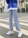 2021夏季新款牛仔褲女直筒chic港味寬鬆高腰顯瘦潮垂感寬管褲薄款 黛尼時尚精品