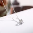 【新飾界】項鍊:925純銀皇冠項鍊女