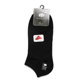 貝柔 萊卡針織學生船襪加大版 黑 3入組