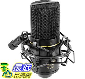 [106美國直購] MXL 專業電容式麥克風含避震架 收納箱 MXL 770 Cardioid Condenser Microphone