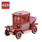 【日本正版】TOMICA 米妮 高帽子日本車 玩具車 日本7-11限定款 Disney Motors 多美小汽車 - 160700