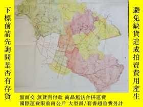 二手書博民逛書店罕見泉州手繪印刷舊地圖Y282332