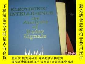 二手書博民逛書店electronic罕見intelligence; the an