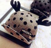 店長推薦春秋新款兒童鹿角帽子1-3歲冬男女童可愛造型鴨舌帽寶寶棒球帽潮