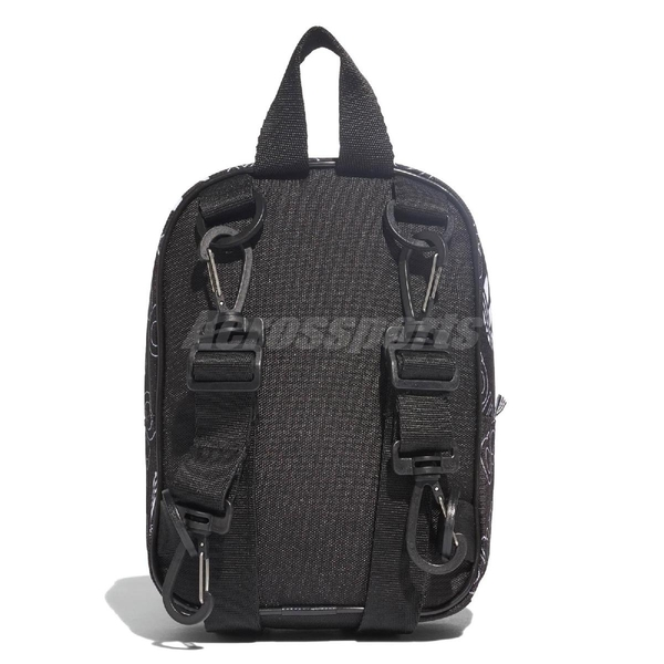 adidas 後背包 BP CL AC XS GR 黑 白 男女款 三葉草 Logo 【ACS】 DV0192