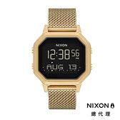 NIXON Siren Milanese 閃耀金/ 米蘭帶電子錶 A1272-502 NIXON官方直營