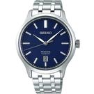 SEIKO精工 Presage 旗鑑時尚機械錶-藍x銀/41.7mm 4R35-02S0B(SRPD41J1)