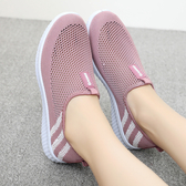 夏季老北京布鞋女網鞋軟底透氣媽媽鞋網眼中老年老人運動網面女鞋