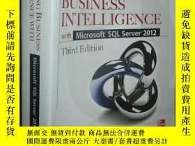 二手書博民逛書店Delivering罕見Business Intelligence with Microsoft SQL Serv