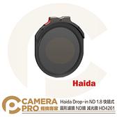 ◎相機專家◎ 預購 Haida Drop-in ND 1.8 快插式 圓形濾鏡 ND64 減光鏡 減六格 HD4261 公司貨