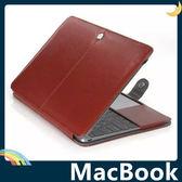 MacBook 全新12吋 書本式保護套 高檔皮革收納包 糖果色帶磁扣 商務簡約款 電腦包 筆電包 手拿包