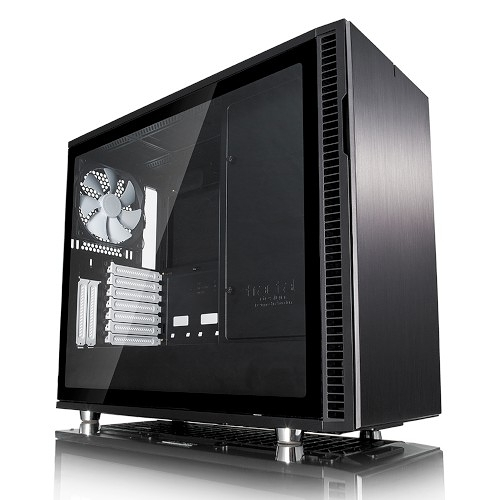 Fractal Design Define R6 USB-C Type-C TG 鋼化玻璃 Black 永夜黑 E-ATX 機殼