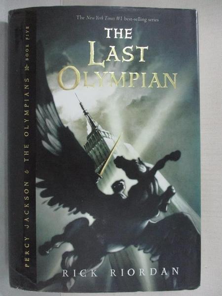 【書寶二手書T7/原文小說_DAR】The Last Olympian_Riordan, Rick