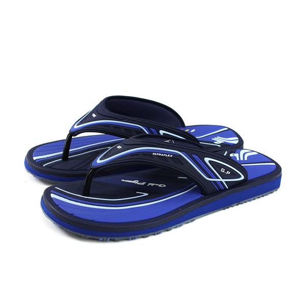 G.P 阿亮代言 夾腳拖鞋 人字拖 雨天 深藍色 男鞋 G0575M-20 no346