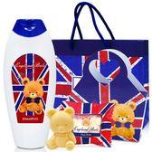 (滿3件$399)英國貝爾抗菌洗髮乳220ml(國旗款)+國旗皂含紙袋~指定商品需滿3件以上才可出貨