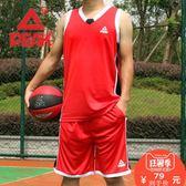 籃球服套裝男2018夏季球衣訓練比賽背心透氣運動團購定制印號