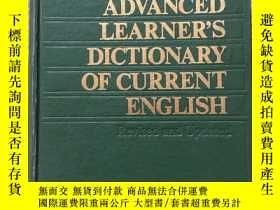 二手書博民逛書店OXFORD罕見ADVANCED LEARNER S DICTIONARY OF CURRENT ENGLISH(