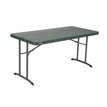美國 Lifetime 折疊長方桌 五呎 黑色 型號80493 戶外傢俱