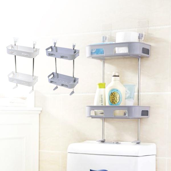 現貨!   多功能 廚房 浴室 雙層置物架