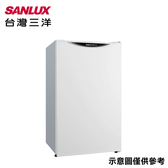 【SANLUX 台灣三洋】98L定頻單門冰箱SR-C98A1
