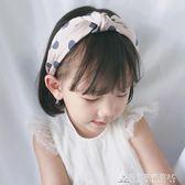 韓國兒童波點發箍寬邊壓發小學生發卡可愛頭箍女童公主防滑頭飾品 酷斯特數位3c