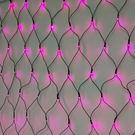 LED 128燈網燈(粉紅光)附控制器...
