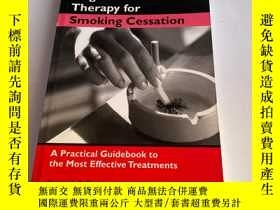 二手書博民逛書店Cognitive-behavioral罕見Therapy for Smoking CessationY261