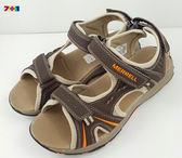 MERRELL PANTHER 戶外多功能防水涼鞋 《7+1童鞋》 B190咖啡