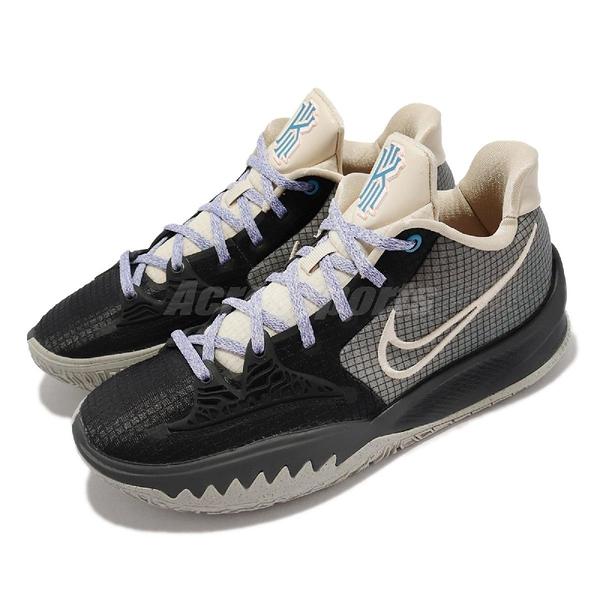 Nike 籃球鞋 Kyrie Low 4 EP 灰 黑 低筒 Irving 厄文 男鞋 【ACS】 CZ0105-003