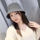 熱賣毛線漁夫帽 針織帽小頭圍帽子女冬小號韓版百搭日系可愛漁夫帽休閒保暖盆帽潮 coco