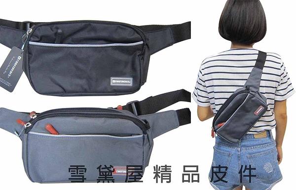 ~雪黛屋~CONFIDENCE 腰包多功能腰包台灣製造品質保證 防水尼龍布可腰包斜側背 ACB2271