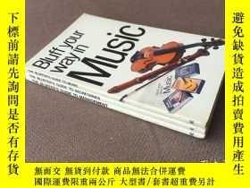 二手書博民逛書店Bluff罕見Your Way in Music   Secretary   Management (英語 3冊合