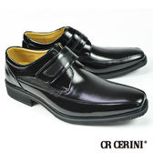 【CR CERINI】小方頭商務孟克鞋 黑色(54531-BL)