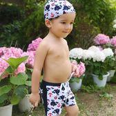 兒童游泳衣男童游泳褲青少年中大童