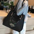 網紅旅行包女韓版短途手提袋行李包旅游大容量輕便運動健身單肩包 開春特惠