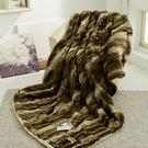 HO KANG 專櫃原裝貂毛系列~大阪西川毯-奢華