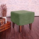 伊登 方塊磚 單人座椅凳(綠)