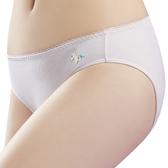 思薇爾-獨角獸自由風系列M-XL素面低腰三角內褲(粉紅色)