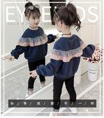 女童衛衣 女童衛衣秋裝2018新款韓版潮洋氣中大兒童裝春秋季時髦小女孩上衣 霓裳細軟