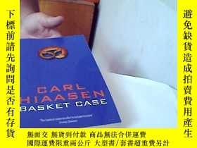二手書博民逛書店英文原版罕見Carl hiaasen -- Basket cas