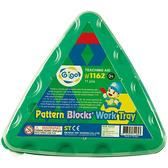 【智高 GIGO】#1162 圖案積木三角盤(需搭配圖案積木使用)