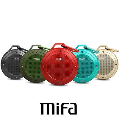 MIFA F10 無線隨身藍芽 MP3 喇叭 IPx6 防水等級超防水