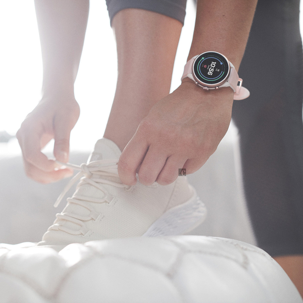 FOSSIL 夏季限定智慧手錶-淡粉/41mm FTW6022
