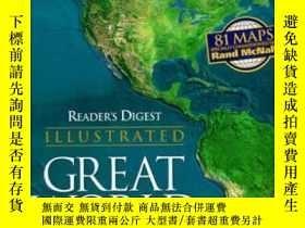 二手書博民逛書店Reader s罕見Digest Illustrated Great World AtlasY307751 E