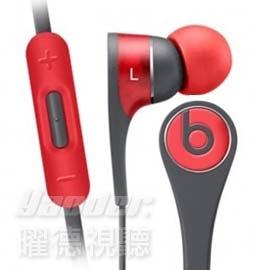【曜德★免運】Beats Tour2.5 紅色 耳道式耳機 線控支援Apple系列 免持通話 / 原廠公司貨