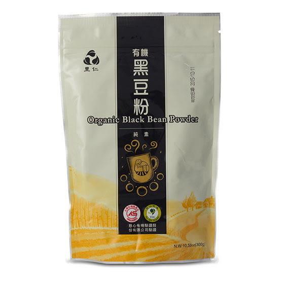 里仁有機黑豆粉300g 備貨需4-7天