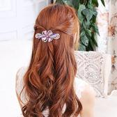 年終盛典 馬尾發夾彈簧夾子水?韓國蝴蝶結韓版發卡子女頭飾品小發飾頭花朵