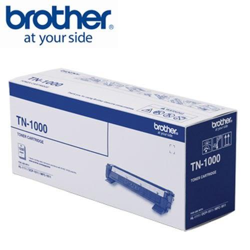 BROTHER 原廠黑色雷射碳粉匣 TN-1000 (適用HL-1210W)